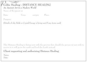 Distance Healing - Celtic Healing